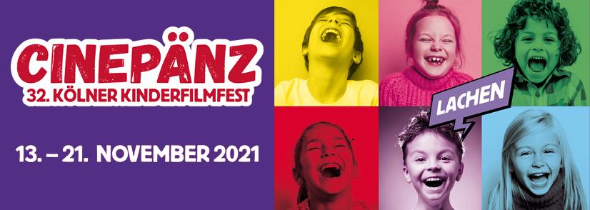 lachende Kinder, Cinepänz 2021 Plakat-Header